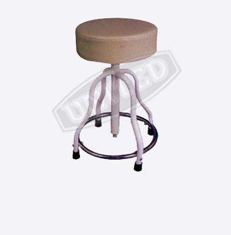 Patient Stool Revolving Cushioned Top