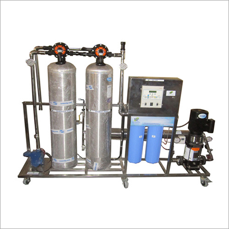 300 LPH Stainless Steel RO Plant