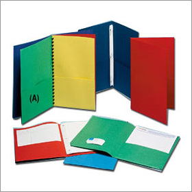 Plastic Pocket Folders
