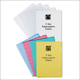 Semi Transparent PP Folders