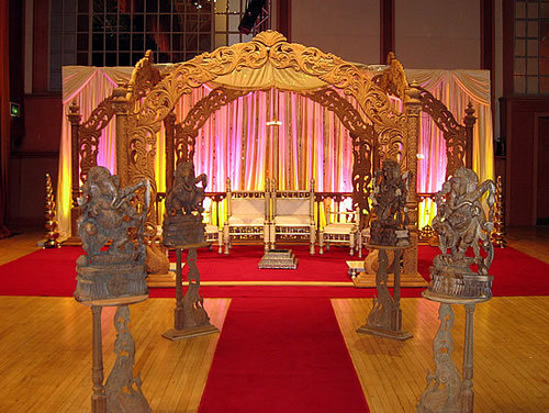 Asian Wedding Mandap