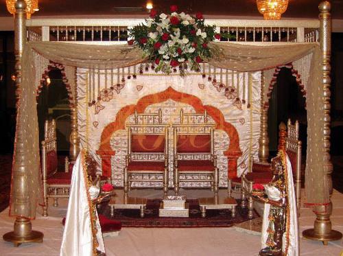 Wedding Mandap Backdrop