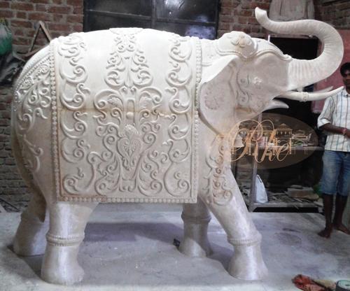 Grc Elephent Sculpture