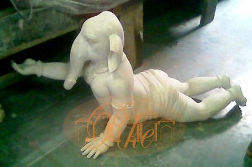 Grc Child Ganesha Sculpture
