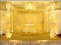 Golden Crystal Mandap