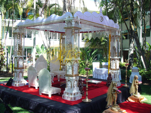 Indian Crystal Mandap