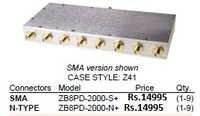 SMA Female 8 Way Splitter