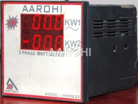 KW meter Three Phase
