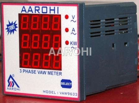 Three Phase VAW Meter