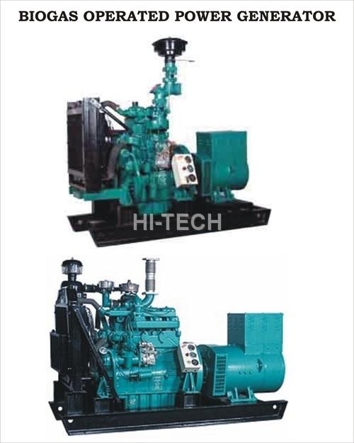 Biomass Gas Operated Power Generator