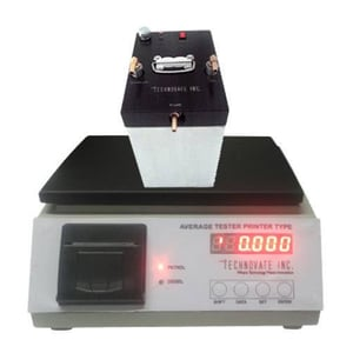 Digital Fuel Average Testing Machine