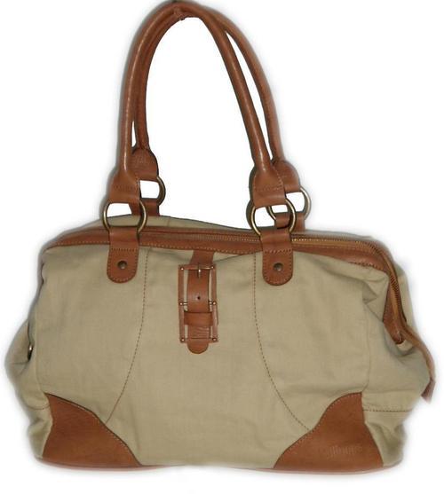 Leather-Fabric Bag