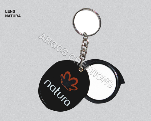 Magnifying Lens Key Chain