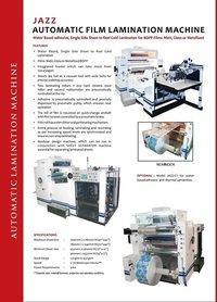 Automatic Film Lamination Machine
