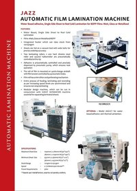 Automatic Film Lamination Machine