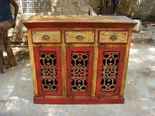 3 Drawer Painted Sideboard
