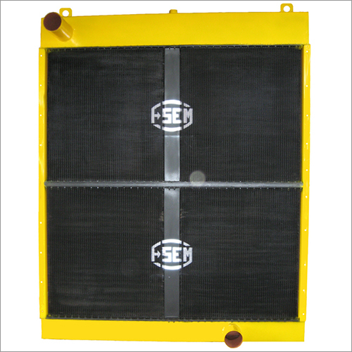 Square Caterpillar Radiator