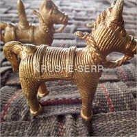 Dhokra Animal Figurines