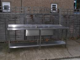Double catering sink