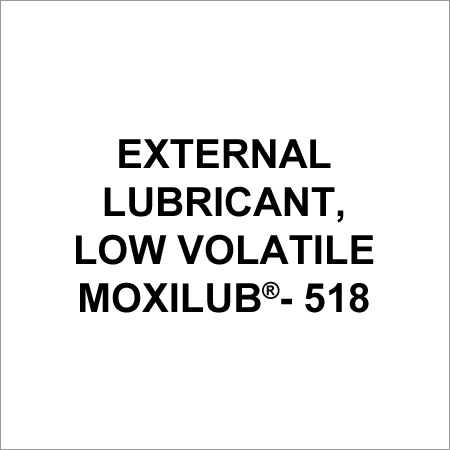 Low Volatile External Lubricant