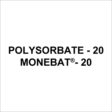 Polysorbates