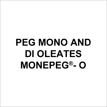 PEG Mono And Di Oleates