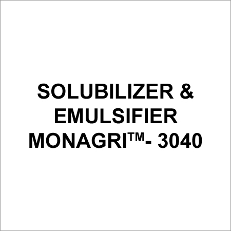 Chemical Solubilizer