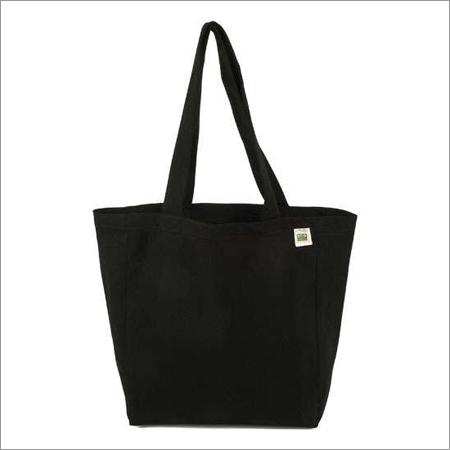 Black Cotton Bag