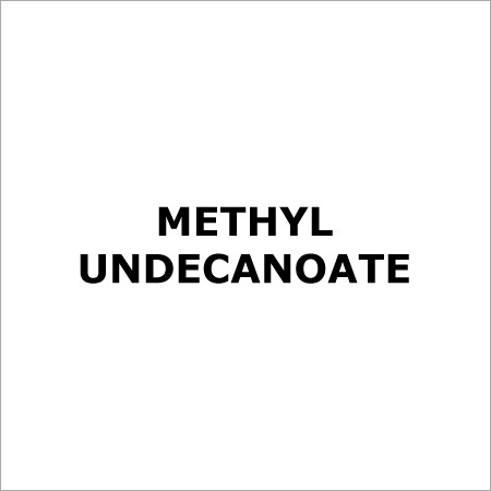 Methyl Undecanoate - Exporter
