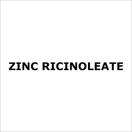 Zinc Ricinoleate Supplier