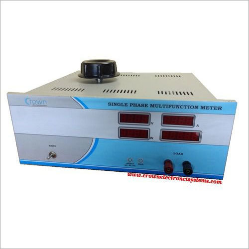 Digital Multi Function Meter with source