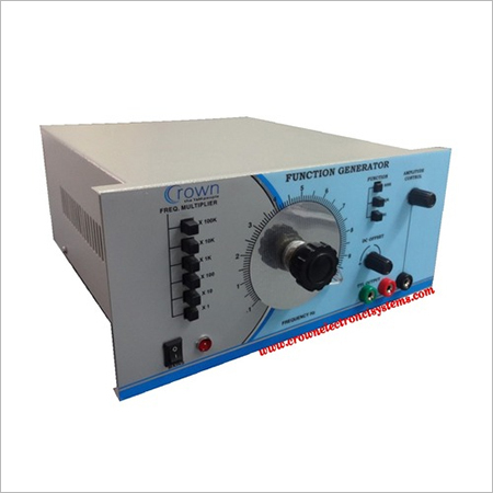 01Hz to 1MHz Function Generator