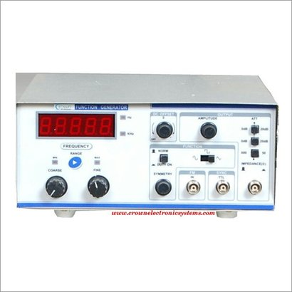 Function Generator With Frequency Counter
