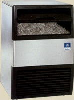 Undercounter Ice Cube Machines with Built-in Storage Bin