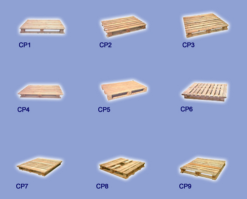 Chemical Wooden Pallets