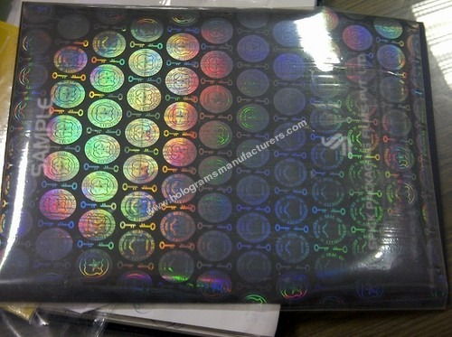 Holographic Thermal Lamination Pouch
