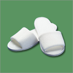 Open Toe Spa Slippers