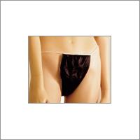 Disposable Black Thong