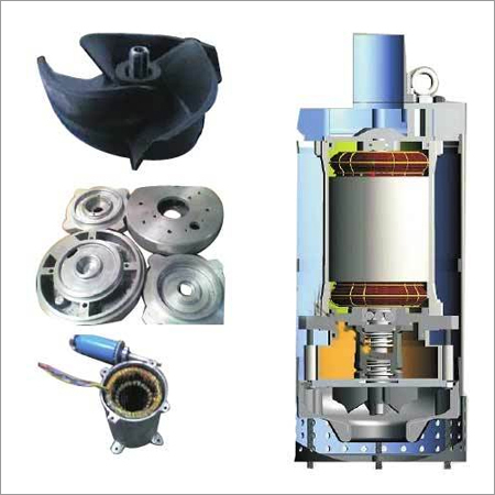 Dewatering Pump Spare Parts