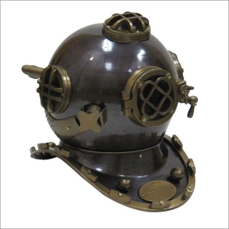 Aluminum Divers Helmet Mark Five