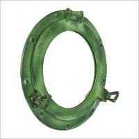 Porthole Mirror Aluminum