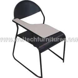 Designer Writing Pad Chair