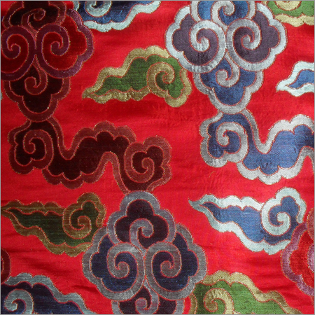 Embroidered Tibetan Brocade