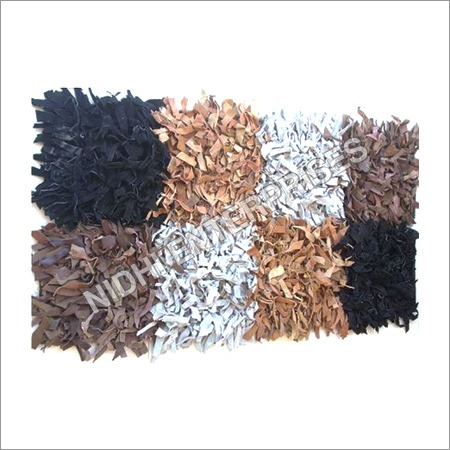 Designer Pattern Leather Rugs