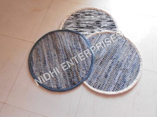 Trendy Pattern Denim Rugs