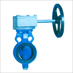 Gearbox Mounted Butterfly Valves