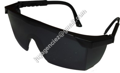 Black Safety Goggles