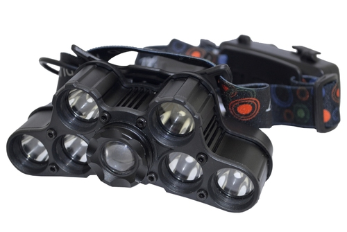 LED Head Lamp (12 LED, With 4 & 12 LED working Options)