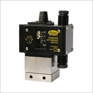 2 SPDT Differential Pressure Switch PJ Series