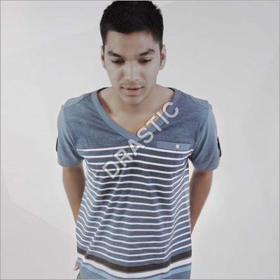 Men Stripped T Shirts